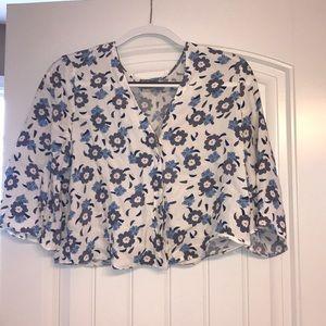 ASOS floral blouse